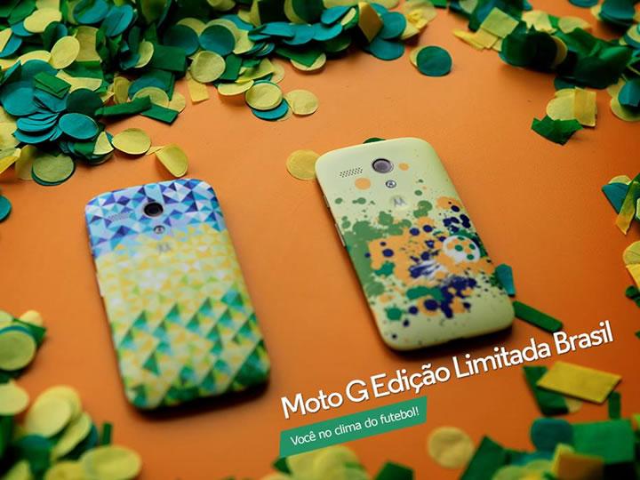 Motorola lança Moto G especial para o Brasil edição limitada!