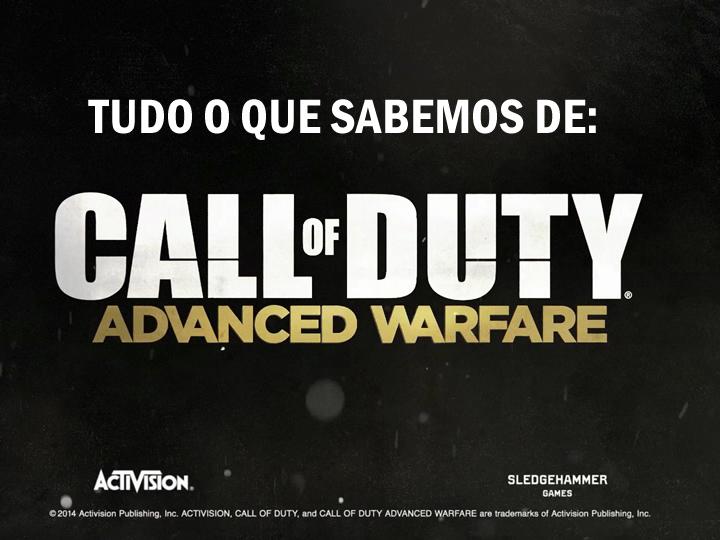 Call of Duty Advanced Warfare: Tudo o que sabemos até agora