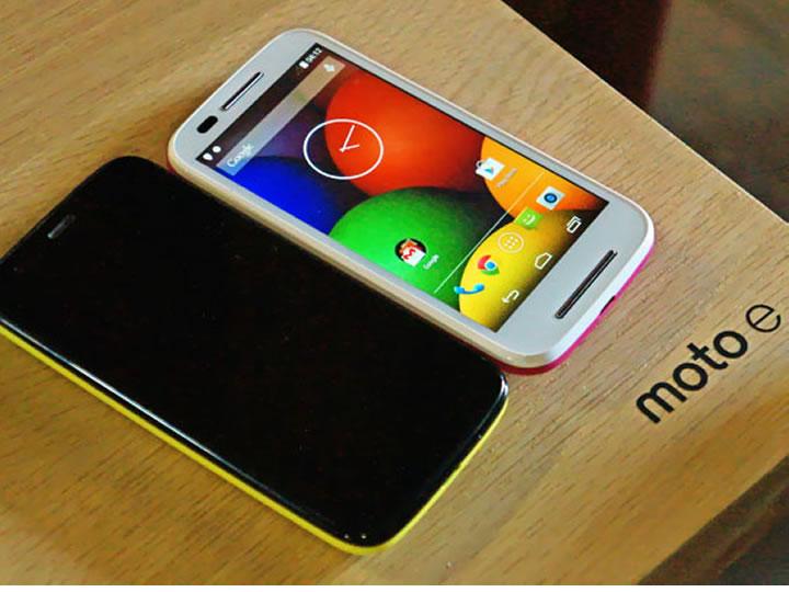 Galaxy S5 perde para o Moto E em testes.