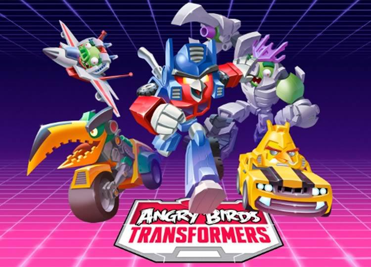 Mais um,Rovio anuncia Angry Birds Transformers!