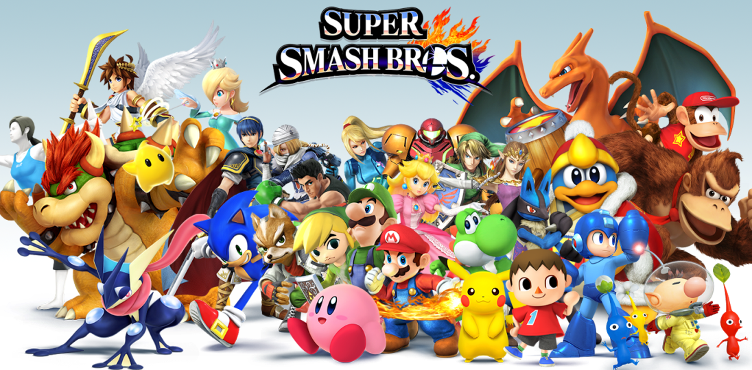 Nintendo Confirma PAC-MAN, Palutena e MiiFighters em Novo Smash Bros
