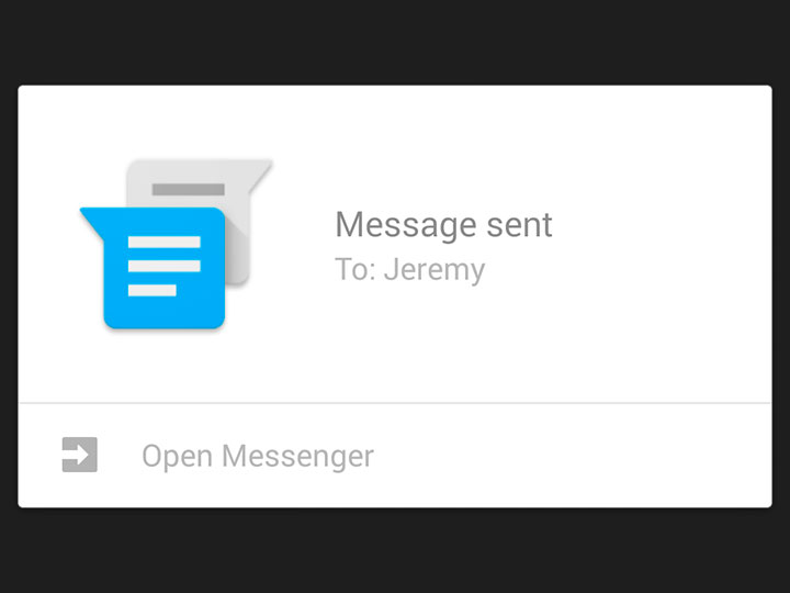 Fim do mistério: Conheça um pouco mais do novo app de mensagens do Android L!