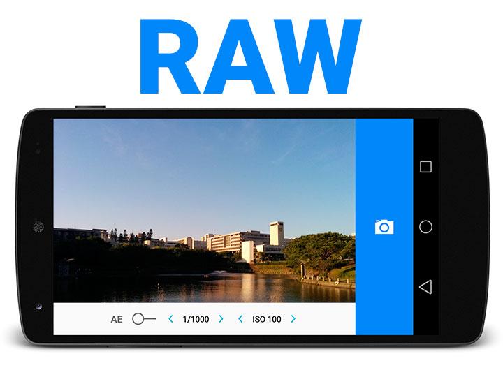 Google lança API com suporte a RAW!
