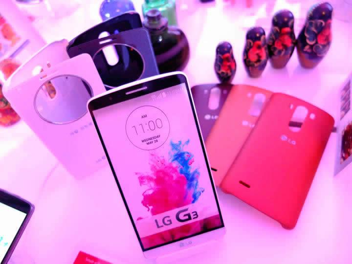 LG Começa a liberar Lollipop para o LG G3