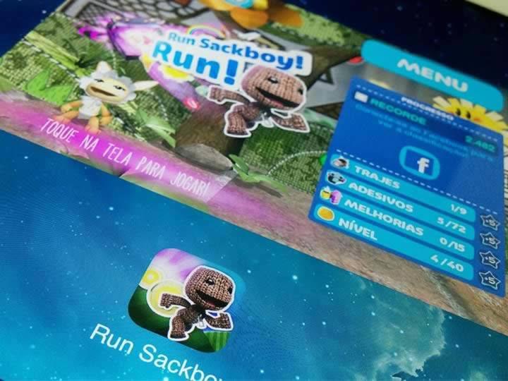 Testamos o game Run Sackboy! Run, confira!