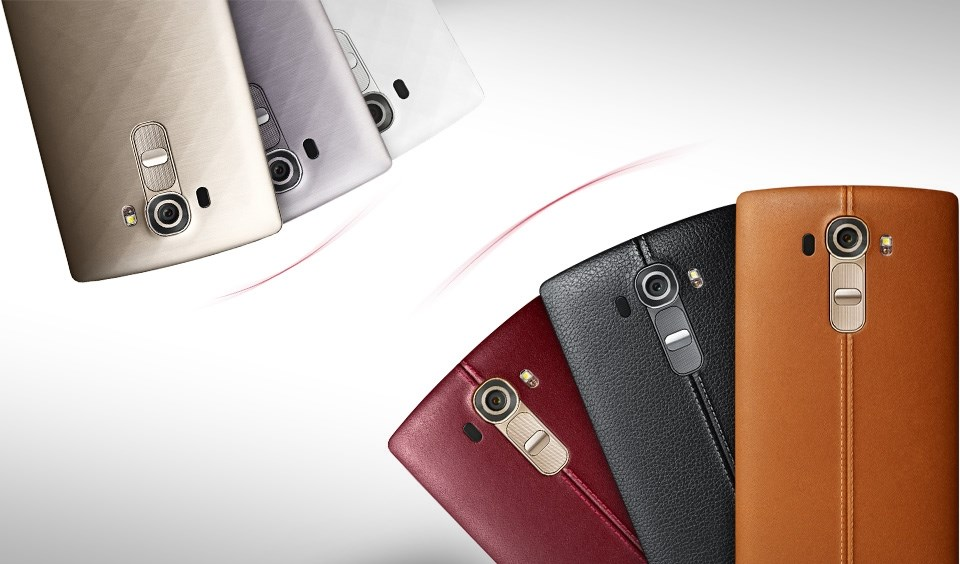 Foto LG G4 todas as cores