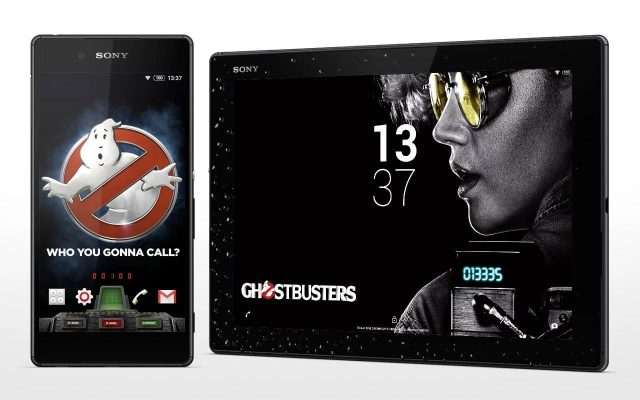 Sony lança tema gratuito para celebrar lançamento do filme Caça-Fantasmas (Ghostbusters).