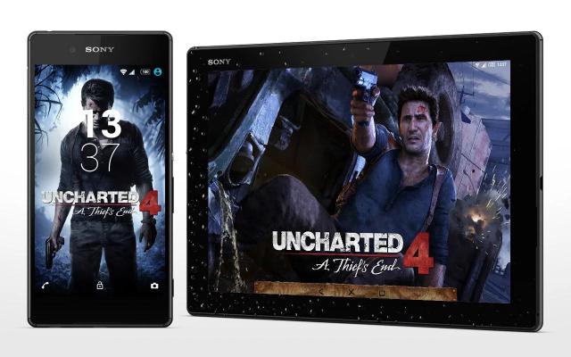 Sony lança oficialmente tema do Uncharted 4 para linha Xperia