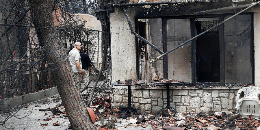 Governo da Grécia suspeita de origem criminosa de incêndio | VEJA.com